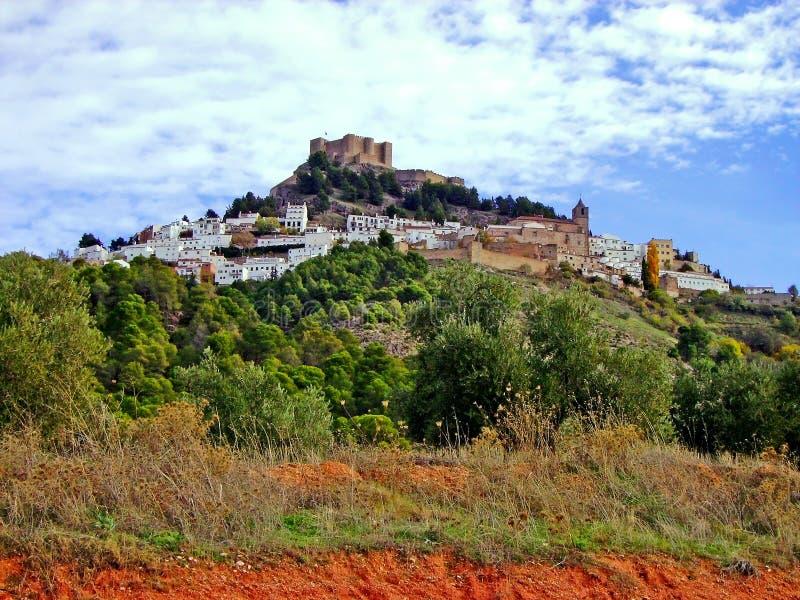 Деревня Segura de Ла Сьерра, Jaen анданте Испания стоковое изображение