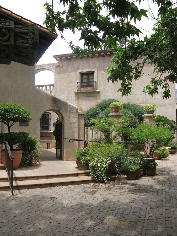 Деревня Tlaquepaque стоковое изображение