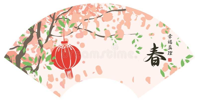Дерево весны цветя бесплатная иллюстрация