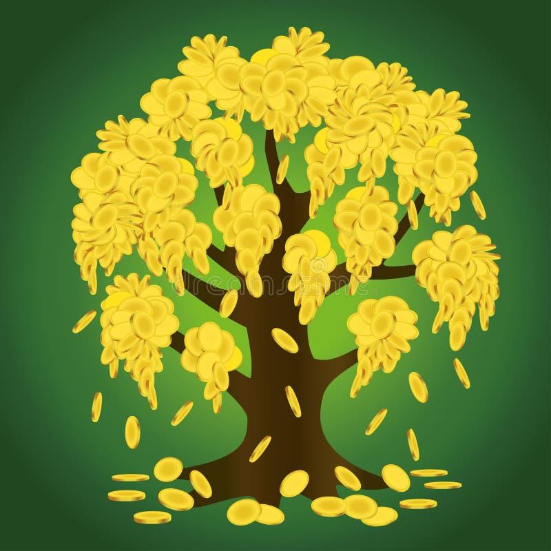 Дерево денег стоковые изображения rf