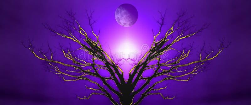 Дерево жизни иллюстрация вектора