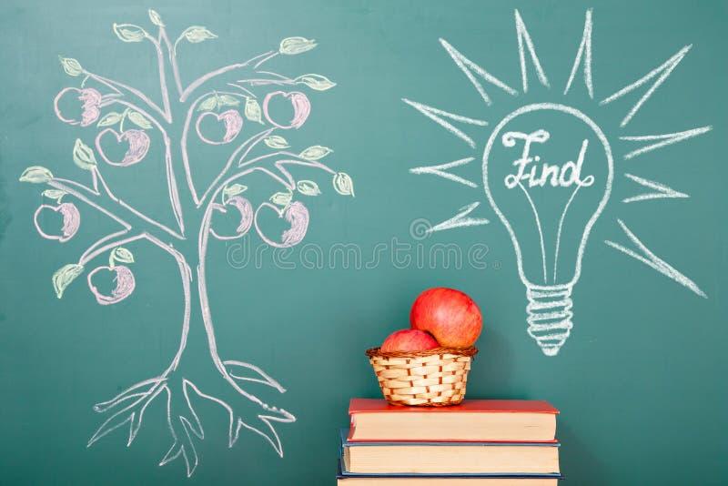 Дерево знания иллюстрация штока