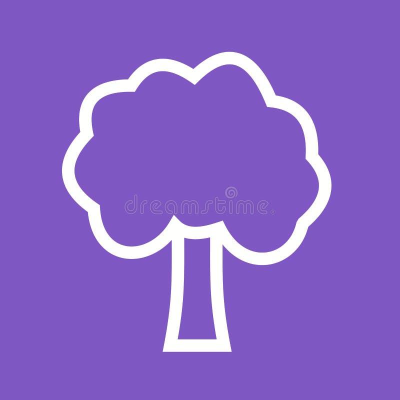 Дерево иллюстрация вектора