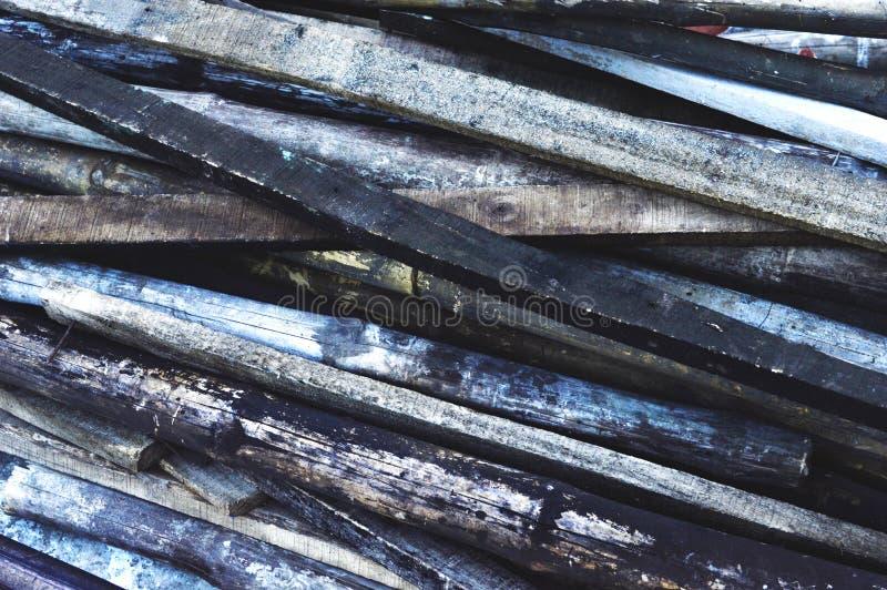 Деревянная и бамбуковая предпосылка стоковые изображения
