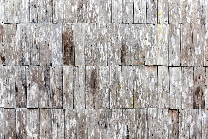 Деревянная кирпичная стена стоковое фото rf