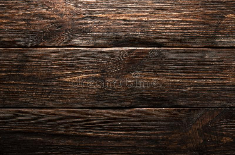Деревянная коричневая текстура зерна, взгляд сверху предпосылки стены деревянного стола деревянной стоковое фото rf