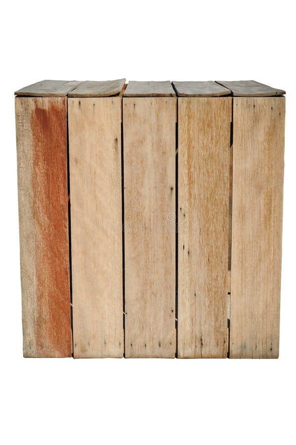 Деревянная коробка стоковое фото rf