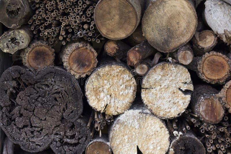 Деревянная куча стоковые фото