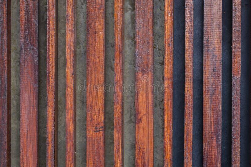 Деревянная линия картина решетины стоковые фотографии rf