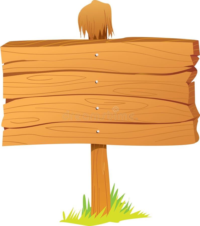 Деревянная доска знака бесплатная иллюстрация