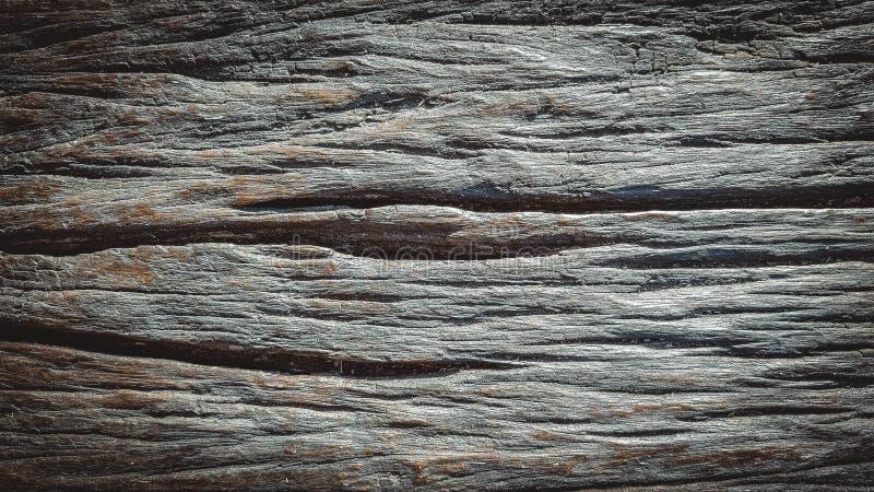 Деревянная поверхностная текстура Monochrome Black&White стоковые изображения
