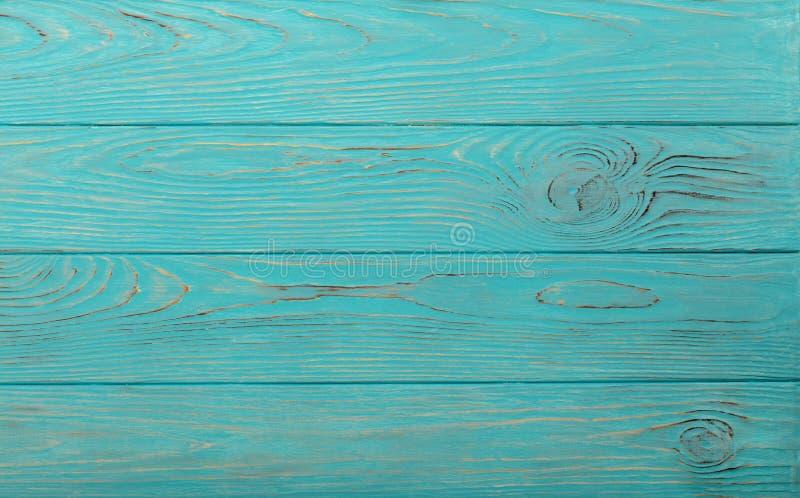 Деревянная постаретая предпосылка лазурного цвета стоковые фото