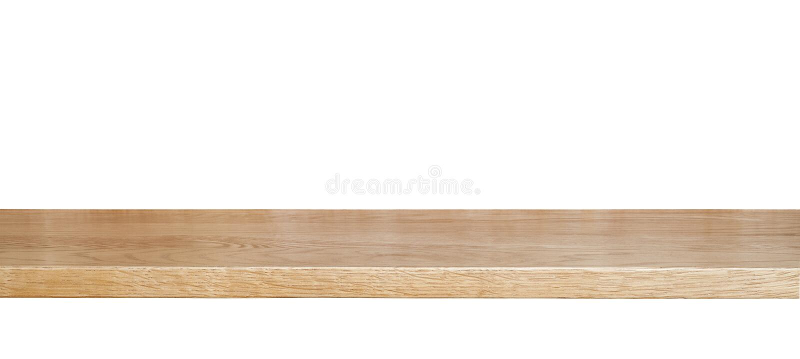 Деревянная полка стоковые фотографии rf