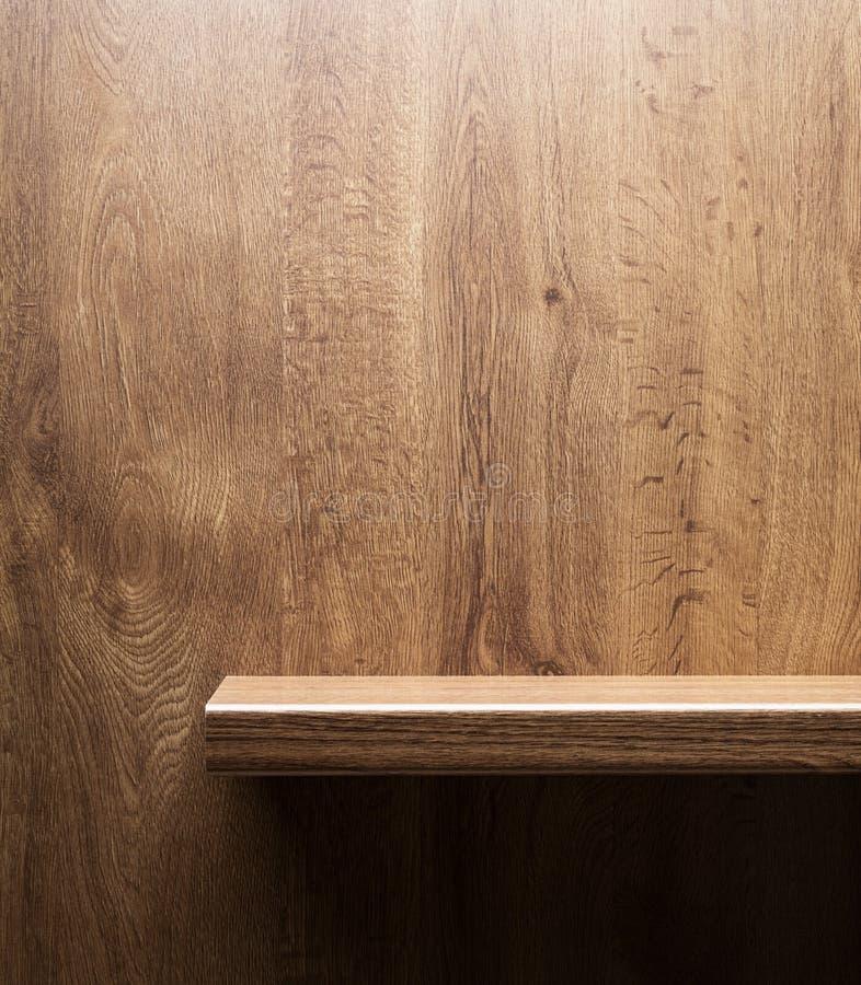 Деревянная полка стоковое изображение
