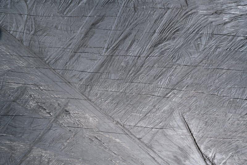Деревянная предпосылка, поцарапанная древесина покрашенная в сером цвете для предпосылки стоковая фотография rf