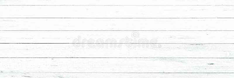 Деревянная предпосылка текстуры, белые деревянные планки Помытая Grunge деревянная картина стены стоковые фотографии rf