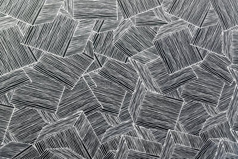 Деревянная предпосылка украшения геометрии стены Абстрактная геометрическая предпосылка древесины абстрактные обои стоковое фото