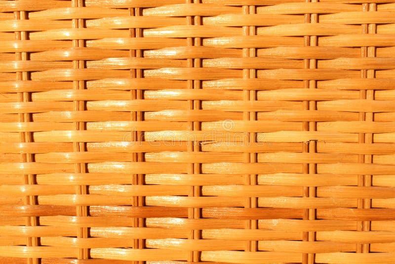 Деревянная предпосылка weave стоковые фотографии rf