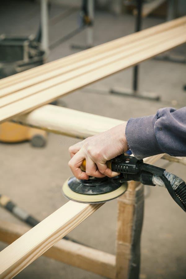 Деревянная работая машина стоковое фото