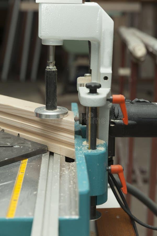 Деревянная работая машина стоковые фото