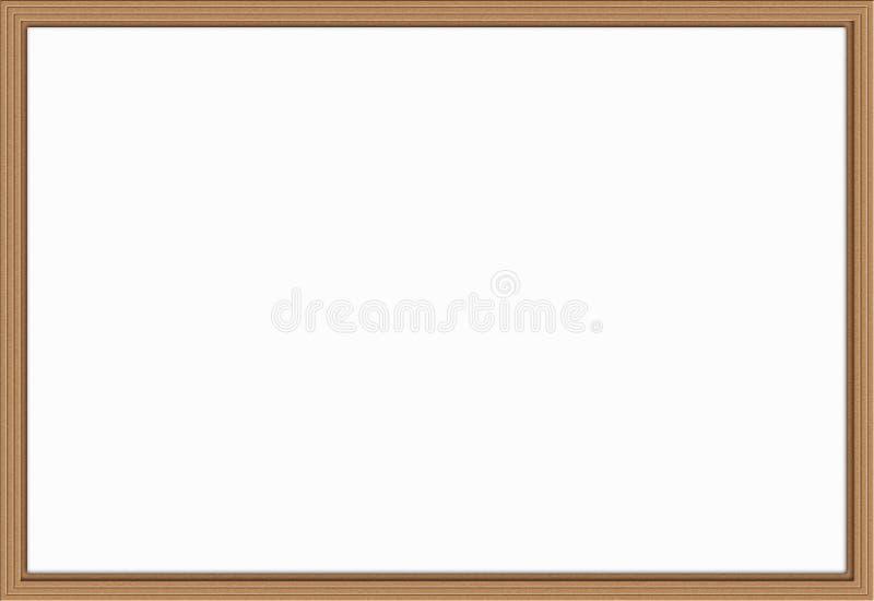 Деревянная рамка - иллюстрация стоковые фотографии rf