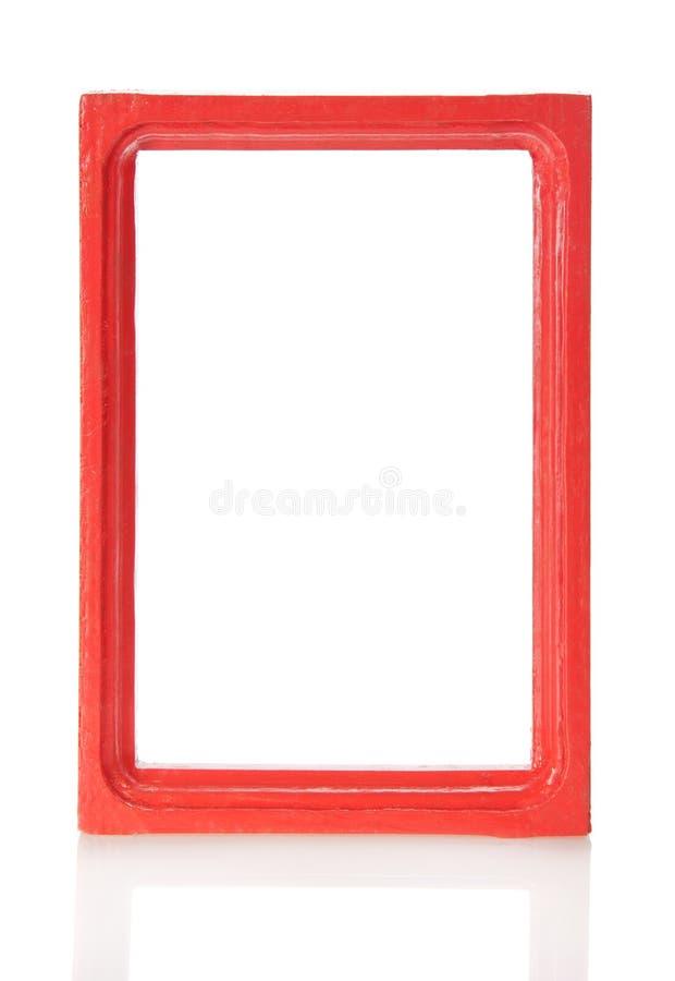 Деревянная рамка для изображений или фото стоковая фотография rf