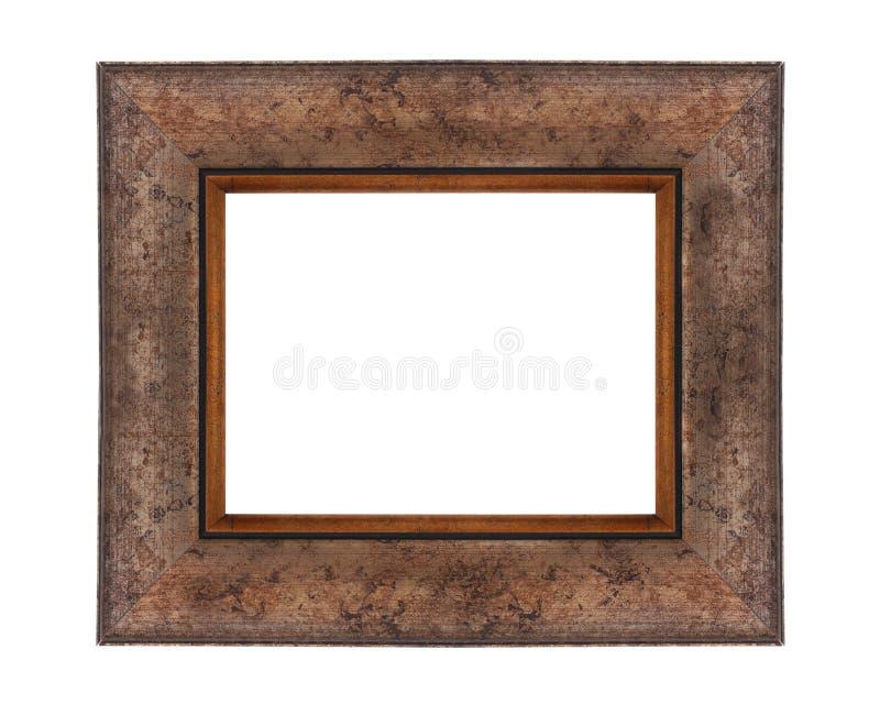 Деревянная рамка для картин стоковое изображение rf
