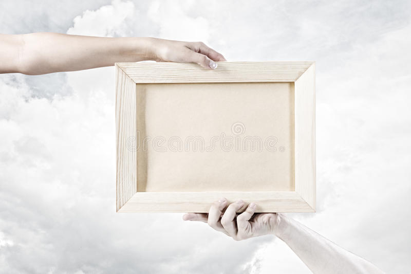 Download Деревянная рамка стоковое фото. изображение насчитывающей старо - 41650224