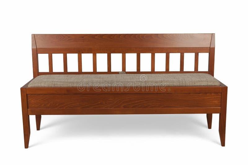 Деревянная софа стоковое фото rf