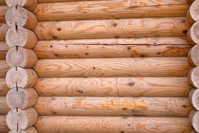 Деревянная стена дома стоковая фотография