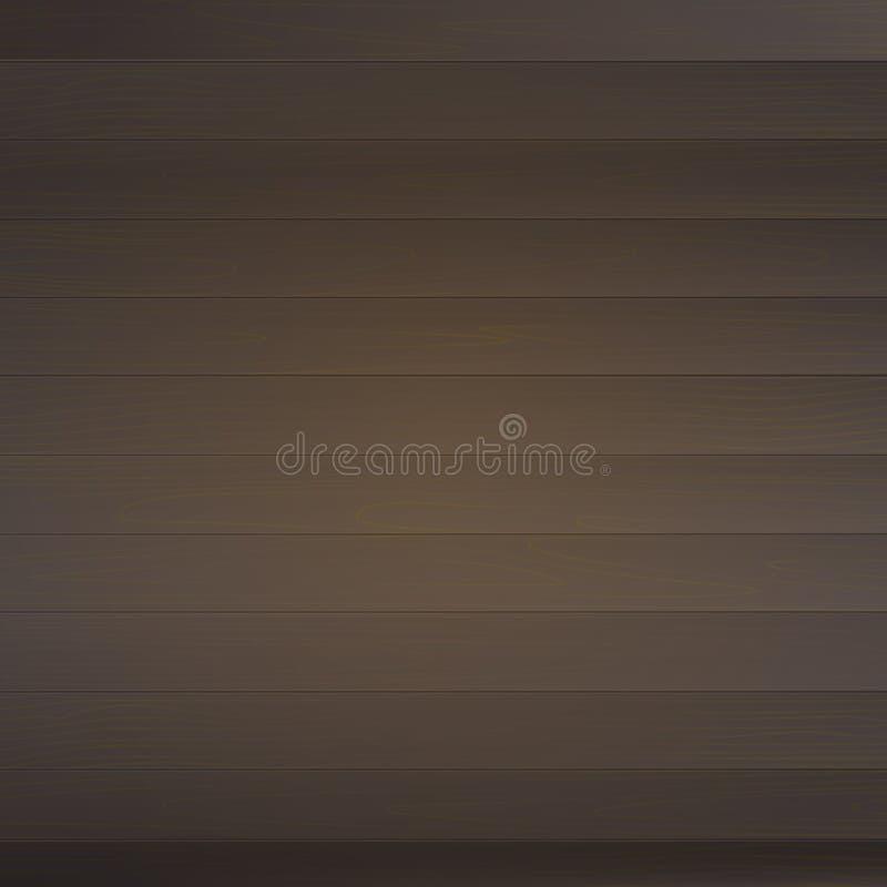 Деревянная текстура Изменяемого размера, пустая предпосылка от деревянных планок Иллюстрация вектора, EPS10 взгляд сверху иллюстрация вектора