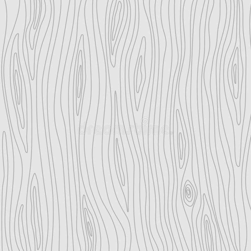 Деревянная текстура Свет вектора - серая предпосылка бесплатная иллюстрация