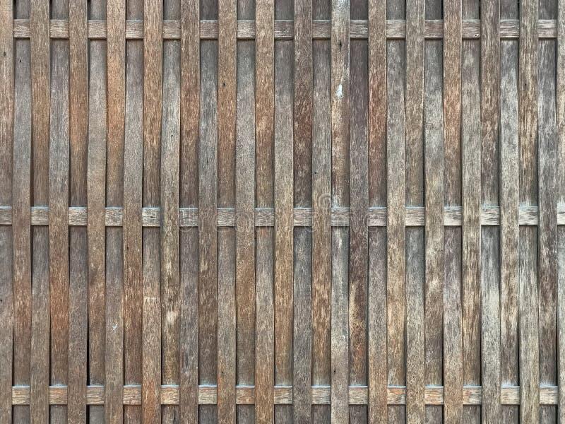 Деревянная текстура стена бамбука предпосылки стоковые фотографии rf