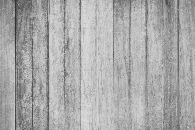 Деревянная текстура стены в черно-белой деревенской предпосылке стоковые фото