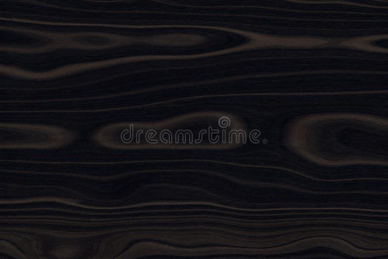 Деревянная текстура, темная коричневая деревянная предпосылка, панель грубая стоковое изображение rf