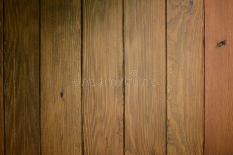 Деревянная текстура Horizantal темного Брайна стоковое изображение