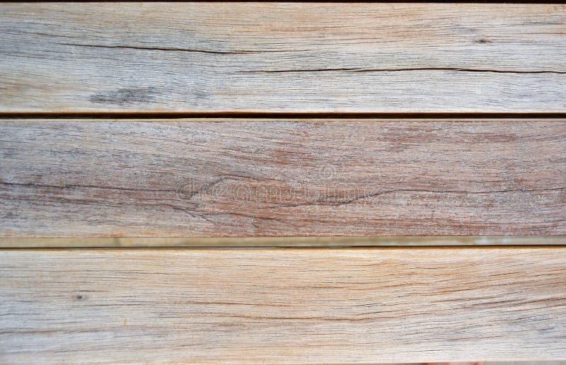 Деревянная текстура Horizantal темного Брайна стоковые фотографии rf