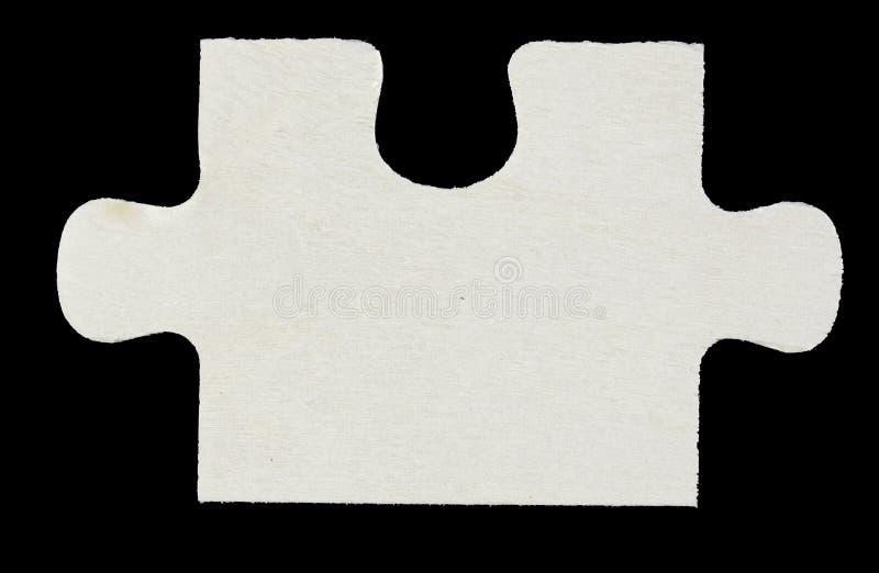Деревянная часть головоломки стоковые фотографии rf
