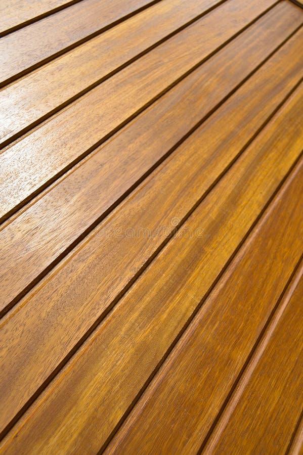 Деревянная mahogany текстура Зерно, крышка Настил, волокна стоковая фотография rf