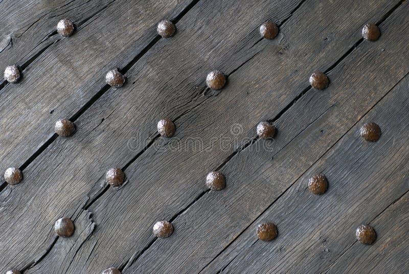 деревянное двери средневековое стоковое фото rf