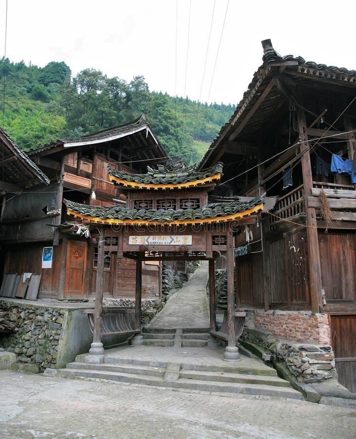 деревянное дома старое сельское стоковое фото rf