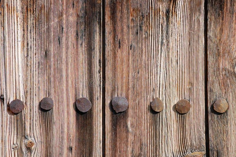 деревянное загородки выдержанное текстурой стоковая фотография rf