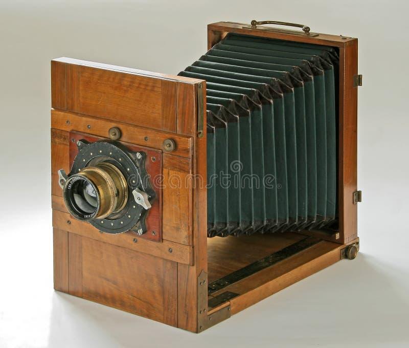 деревянное камеры старое стоковые фотографии rf