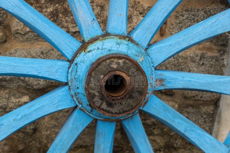 Деревянное колесо стоковое фото rf