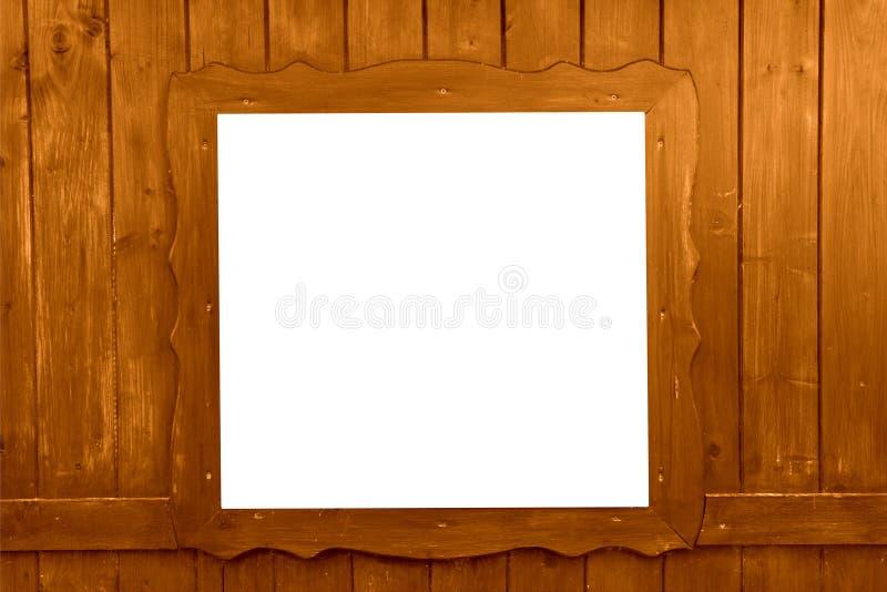 Деревянное окно изолированное как предпосылка стоковое фото