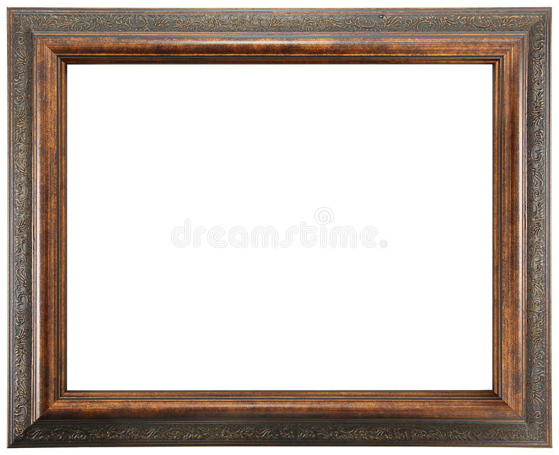 деревянное рамки богато украшенный стоковые фотографии rf