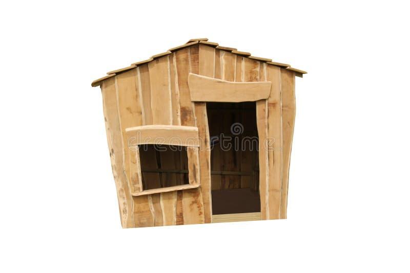 Деревянное укрытие игры стоковое изображение rf