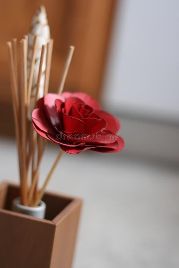 деревянное цветка камышовое стоковые фотографии rf