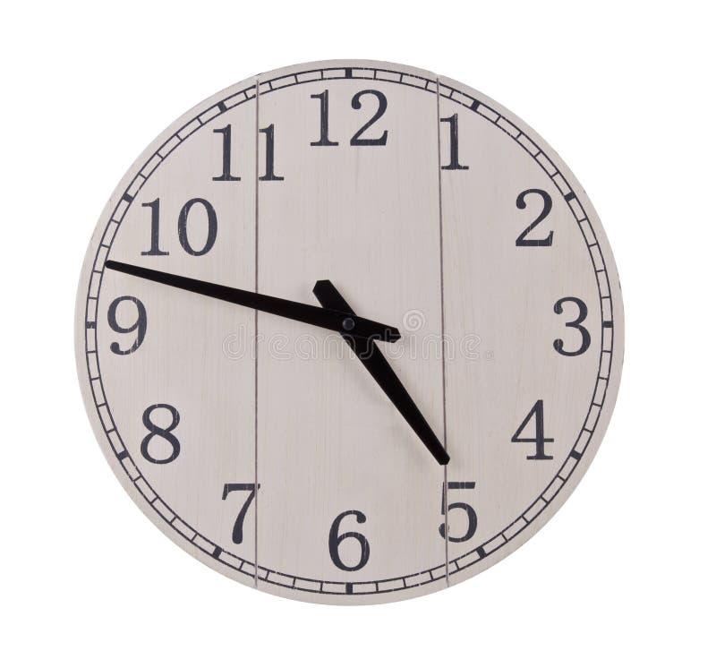 деревянное часов старое стоковое изображение