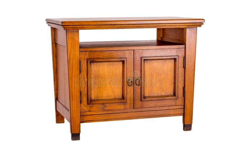 деревянное шкафа классицистическое стоковые фото